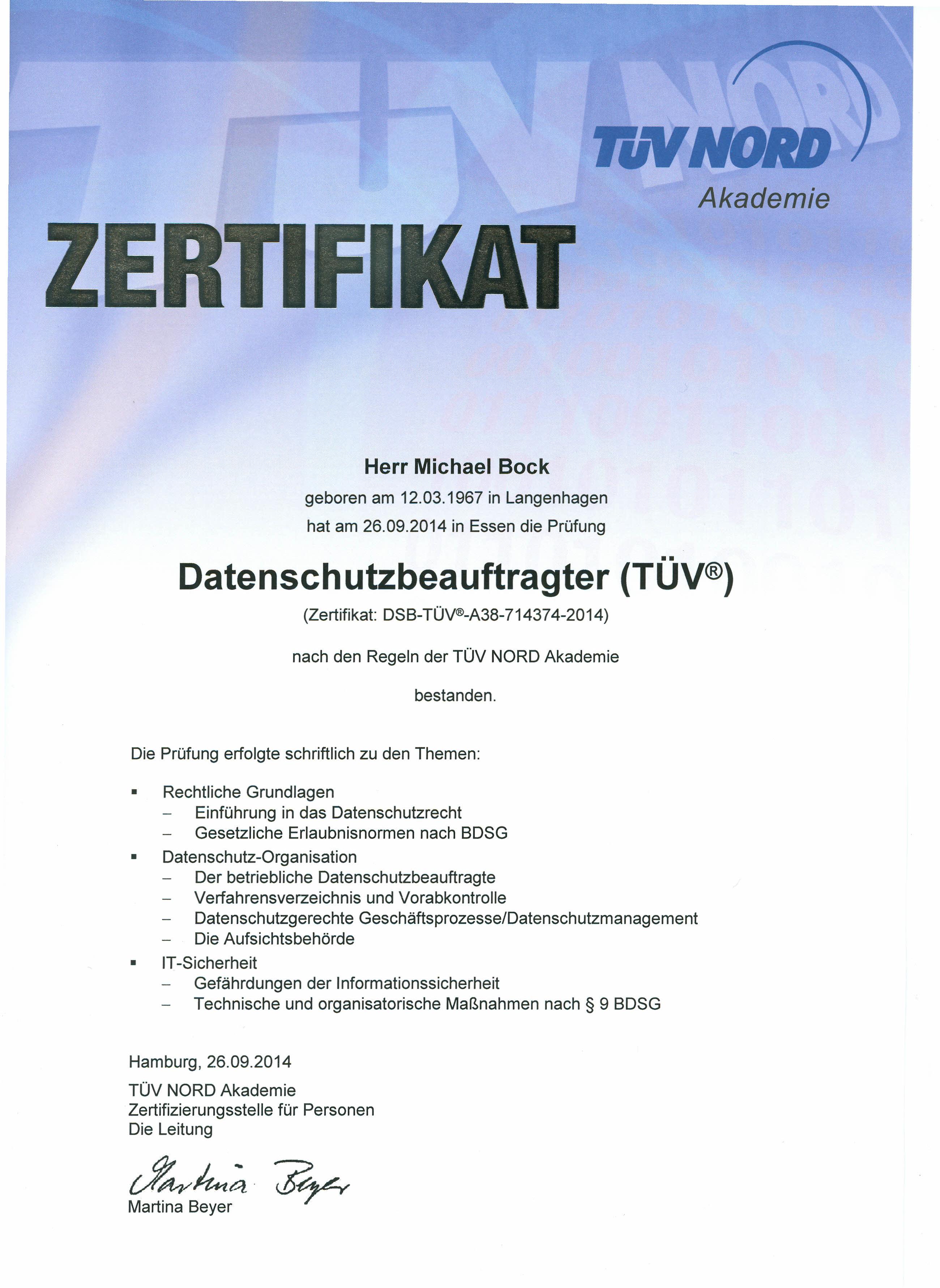Externer Datenschutzbeauftragter Und Datenschutzberatung Daseco Consulting Düsseldorf